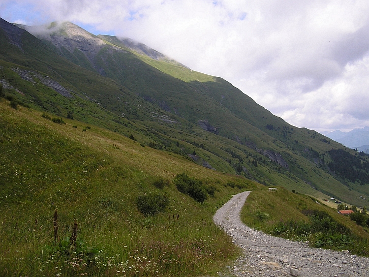The Road to the Col du Joly