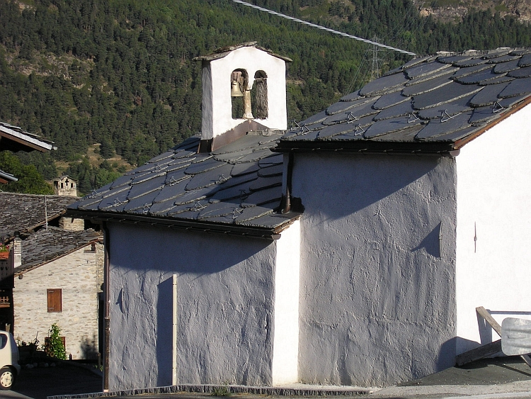 Chapel in Buillet, Val Savarenche