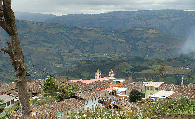 Village between Ipiales and Pasto