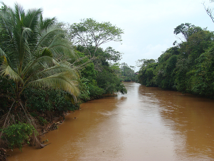 River in the Colombian plains