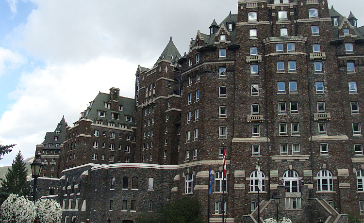 The oldest resort of Canada in Banff