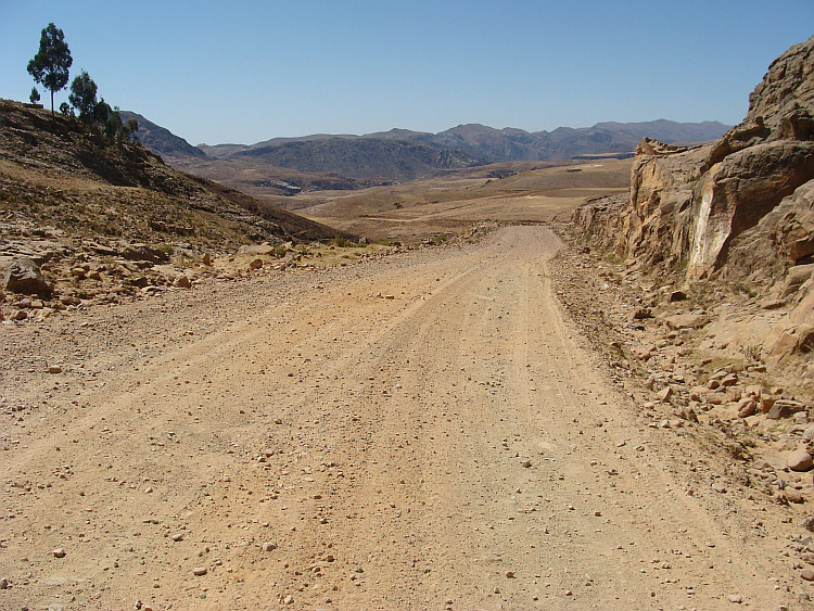 The road from Oruro to Sucre