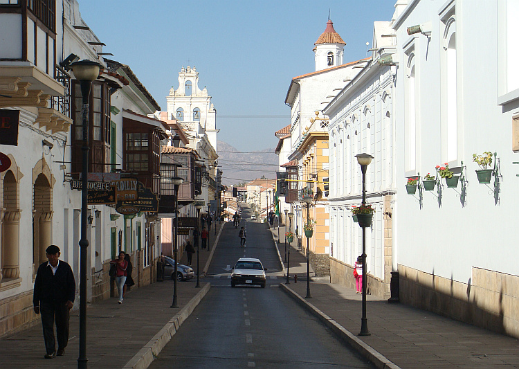 Sucre - the white city