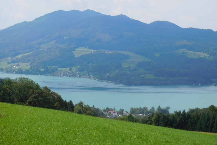 View over the Attersee