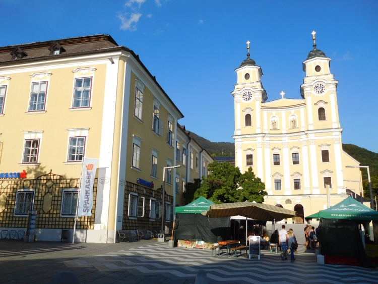 The church of Mondsee