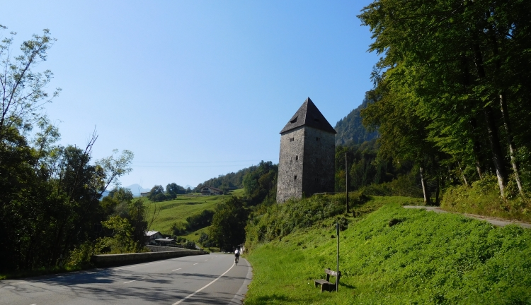 On the road to Berchtesgaden in Southern Germany