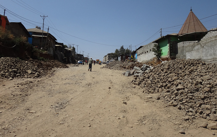 Street in Addis Abbeba