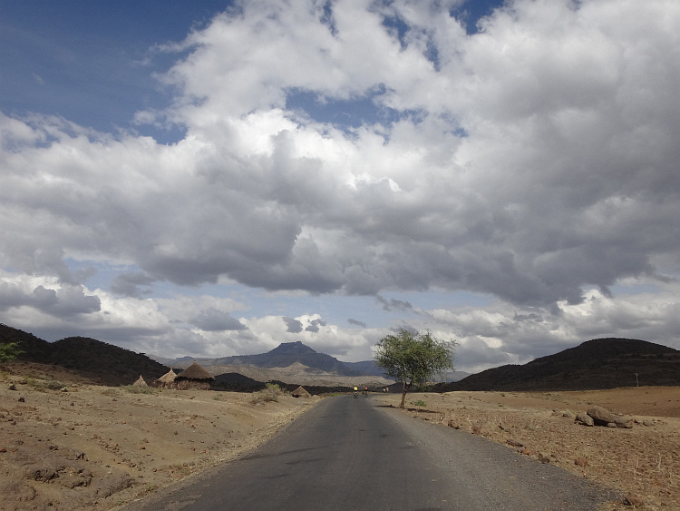 Road to Lalibela