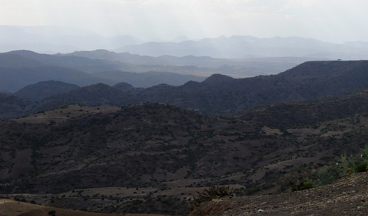 Vista near Lalibela