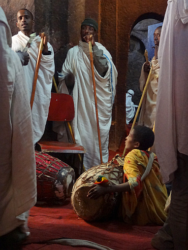 ceremony in Lalibela