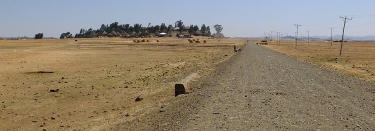 The road from Muke Turi to Alem Ketema