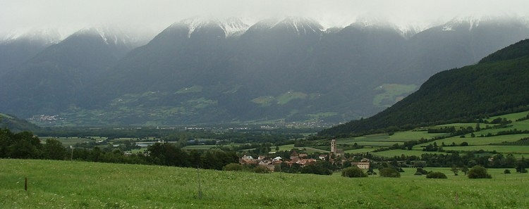 The valley of the Adige