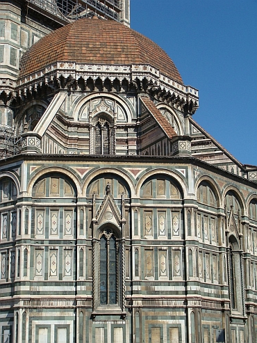 Detail of the Duomo of Firenze