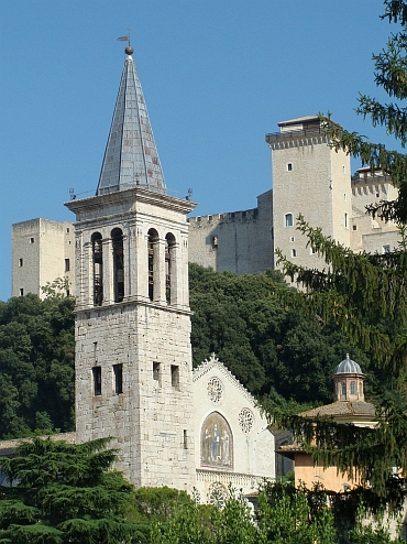 The cathedral of Spoleto