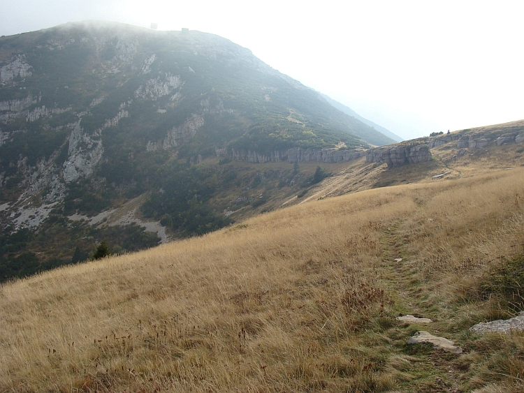 Trail (only walking) to the Monte Baldo