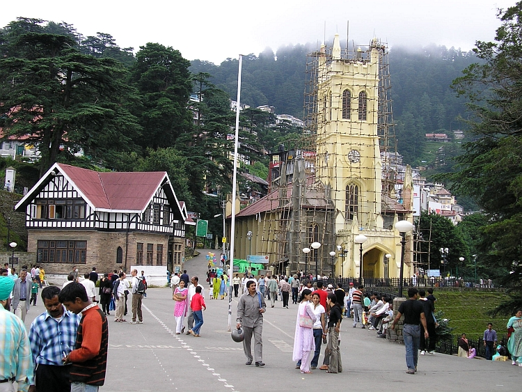 Colonial Shimla is the perfect place to acclimatize to the unique universe that is called India