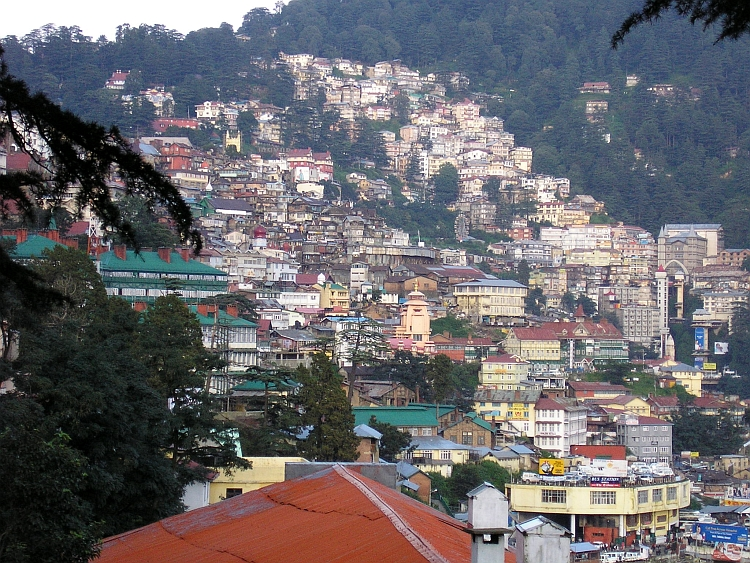 Shimla must be one of the most vertical cities of the world