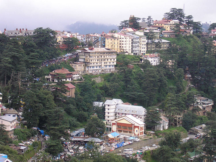 The hills of Shimla