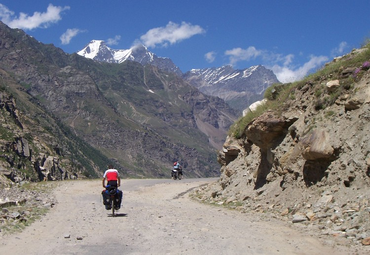 River deep Mountain high, Lahaul
