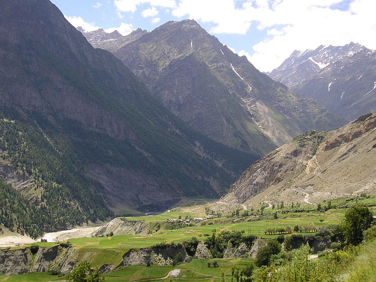 View over Chandra Valley, Lahaul