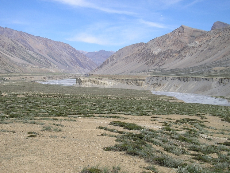 The wide landscape between Sarchu and Brandynala