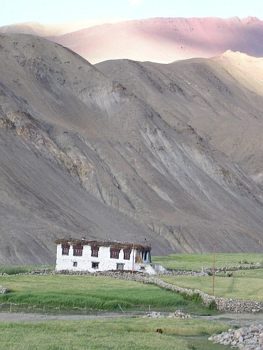 Typically Ladakhi house, Rumtse