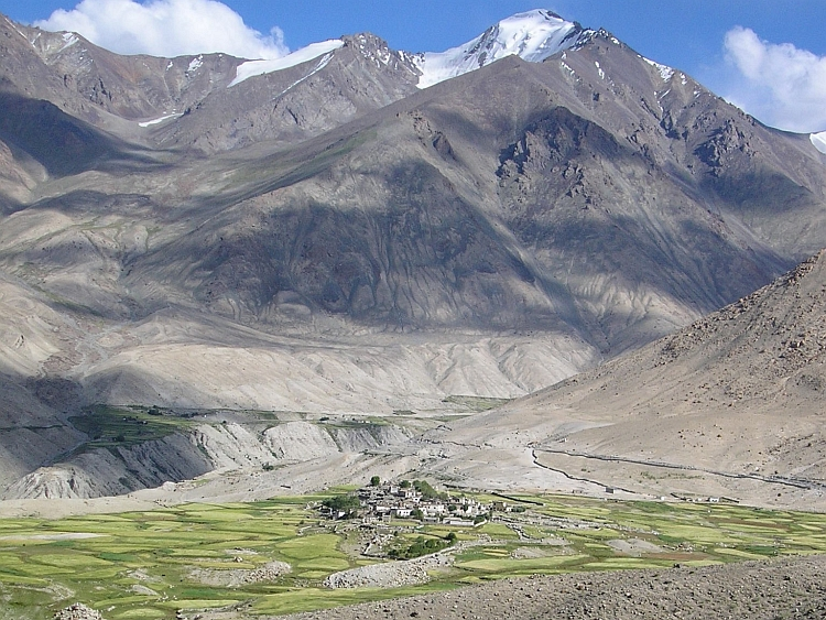 The first village: Khardung