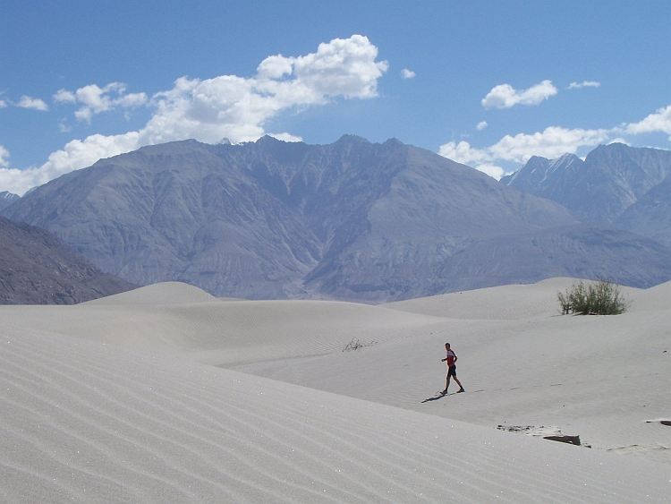 The sand dunes of Hundar