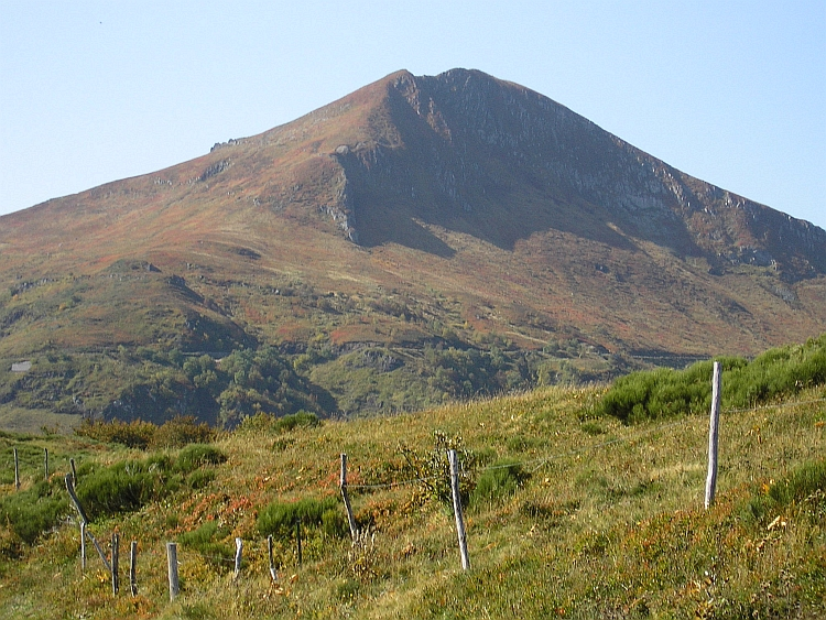 The Puy Mary in autumnal glory