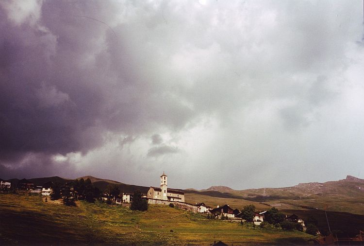 Dark skies over St Véran