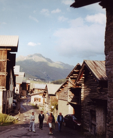 Village on the way to the Col d'Agnel
