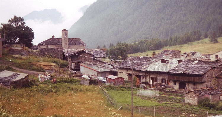 The first Italian village, Chianale