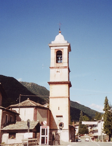 The Church of Frassino, Valle Varaita