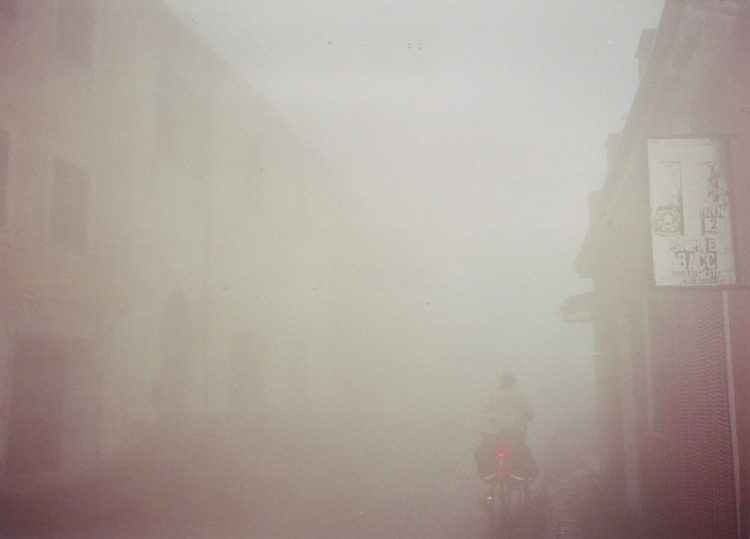 Willem lost in the fog