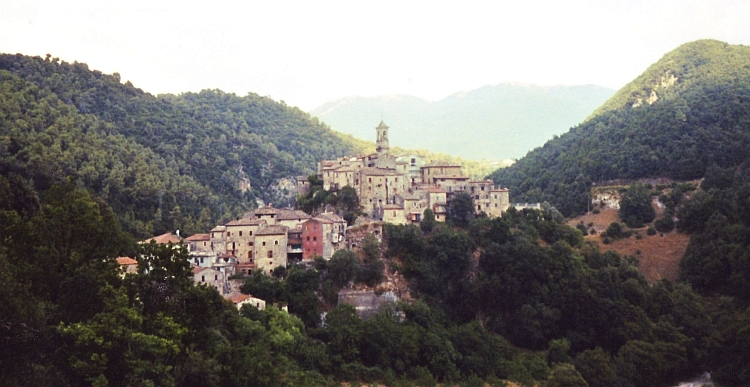 Village in the Apennines