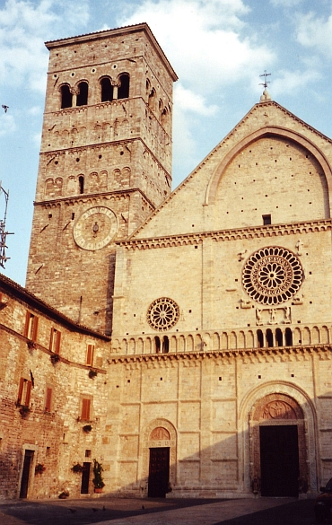 The Roman Church of Assisi