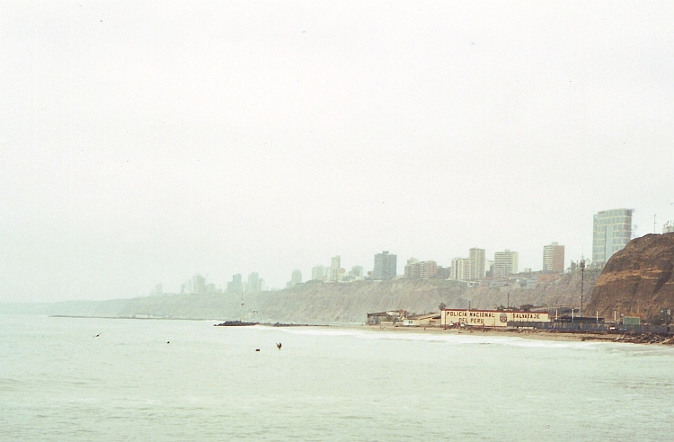 The grey city of Lima