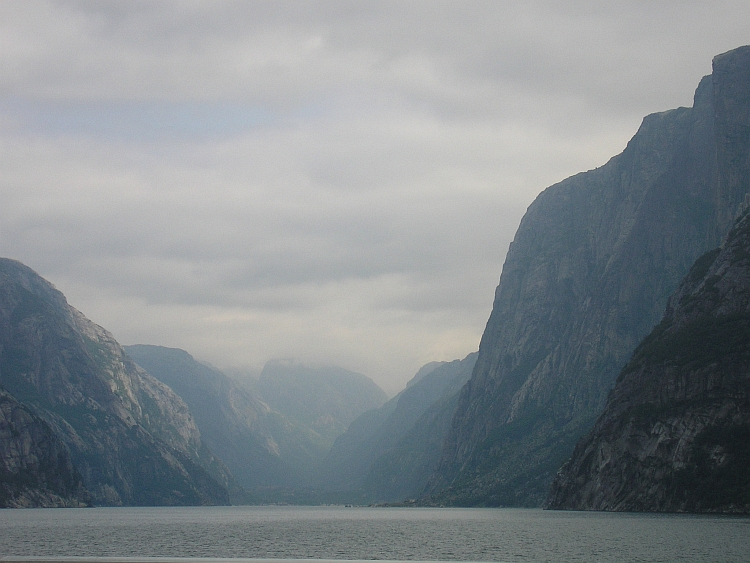 The end of the Lysefjord