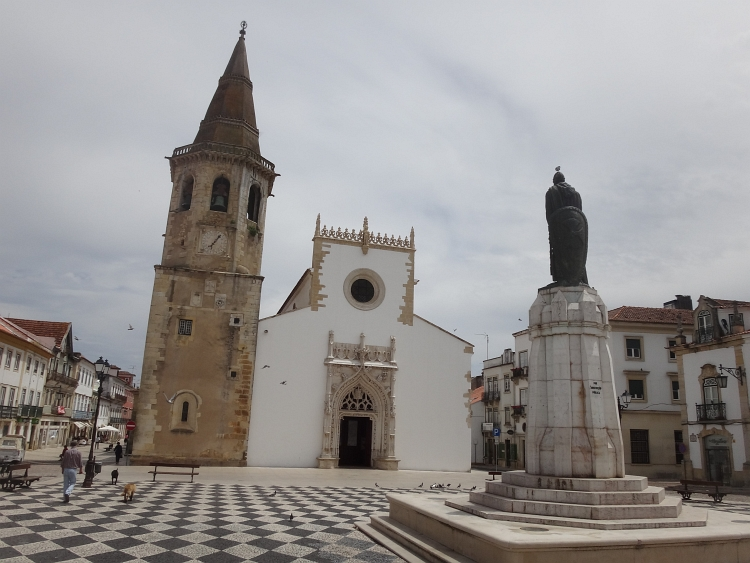 The ão João Baptista church in Tomar