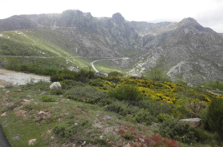 Portugese mountain scenery?? The glacial valley in the Serra de Estrela