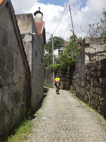 Cobblestone Road between Penafiel and Porto