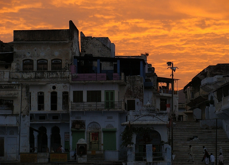 Pushkar sunrise