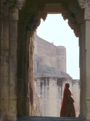 The Jodhpur palace