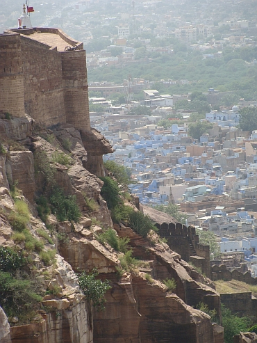The fort and the blue city of Jodhpur
