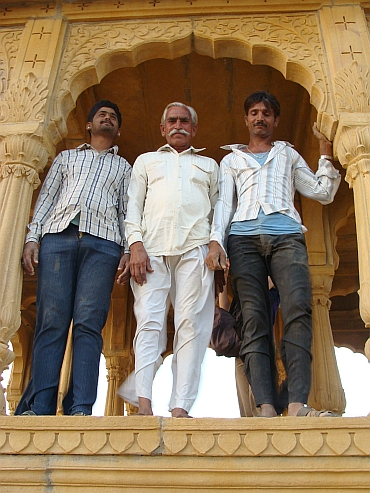 The Maharaja and the Maharanis, Jaisalmer
