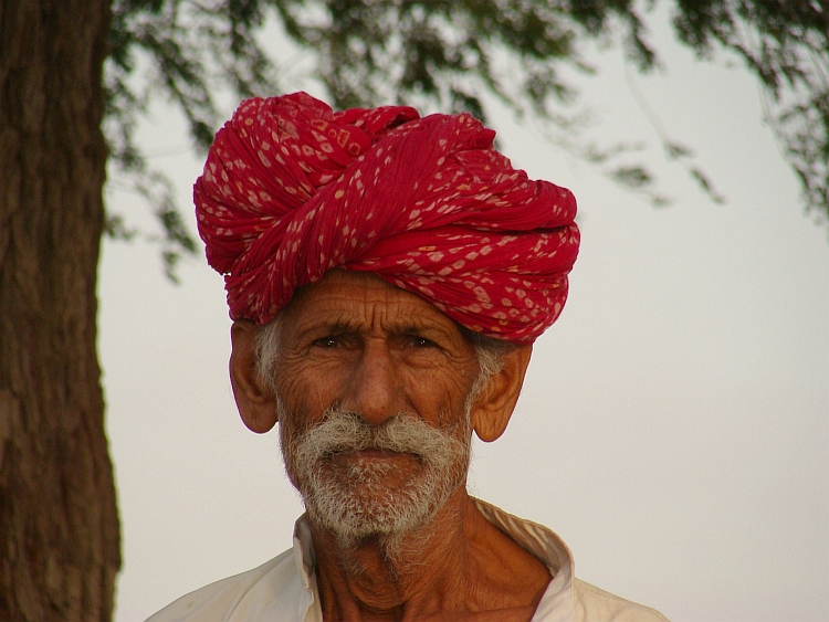 Old man from Jaisalmer