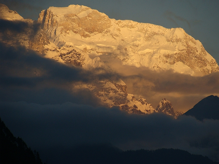 The Massif of the Manaslu (8.163 m)
