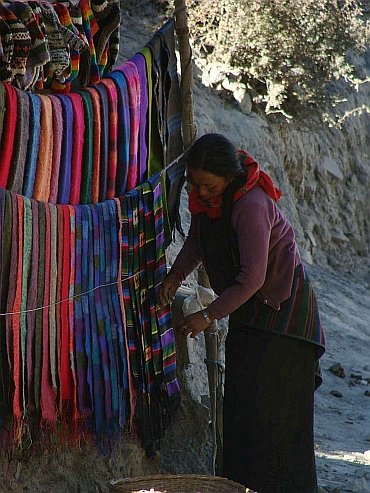 Shawls of the Himalayas
