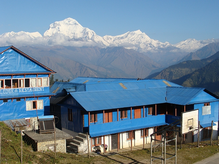 Dhaulagiri from Ghorepani