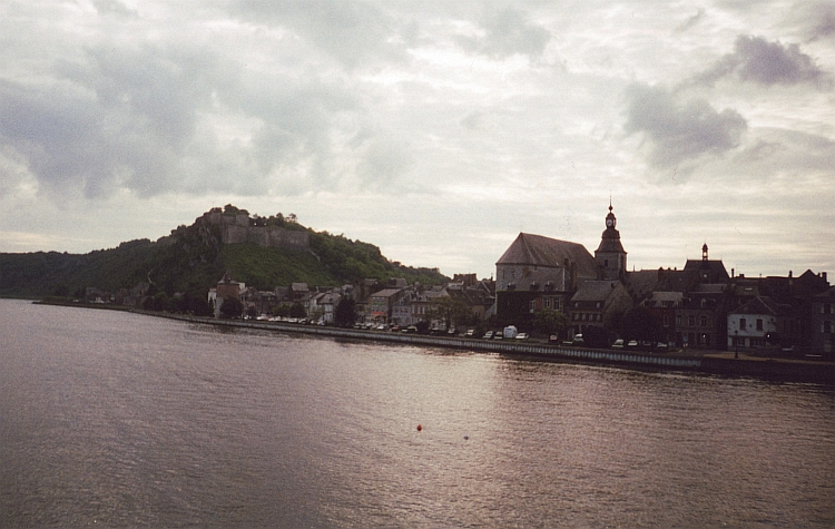 Givet and the Meuse